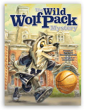 The Wild Wolf Pack Mystery align=