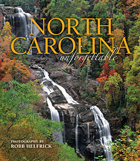 North Carolina Unforgettable (Upper Whitewater Falls cover) align=