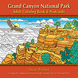 Grand Canyon National Park Adult Coloring Book and Postcards align=
