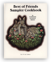 Best of Friends Sampler Cookbook align=