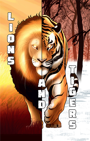 Lions and Tigers align=