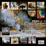 2021 Yellowstone National Park Wall Calendar align=