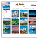 2022 Jackson Hole and the Tetons Wall Calendar align=