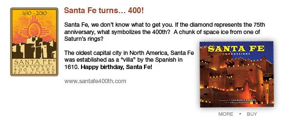 Santa Fe turns 400