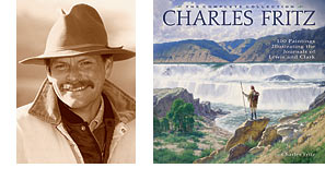Photo of Charlie Fritz and his new book