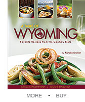 A Taste of Wyoming Book