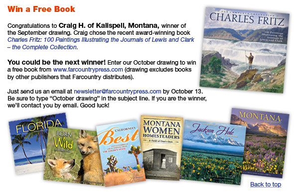 FCP-October Newsletter Win book